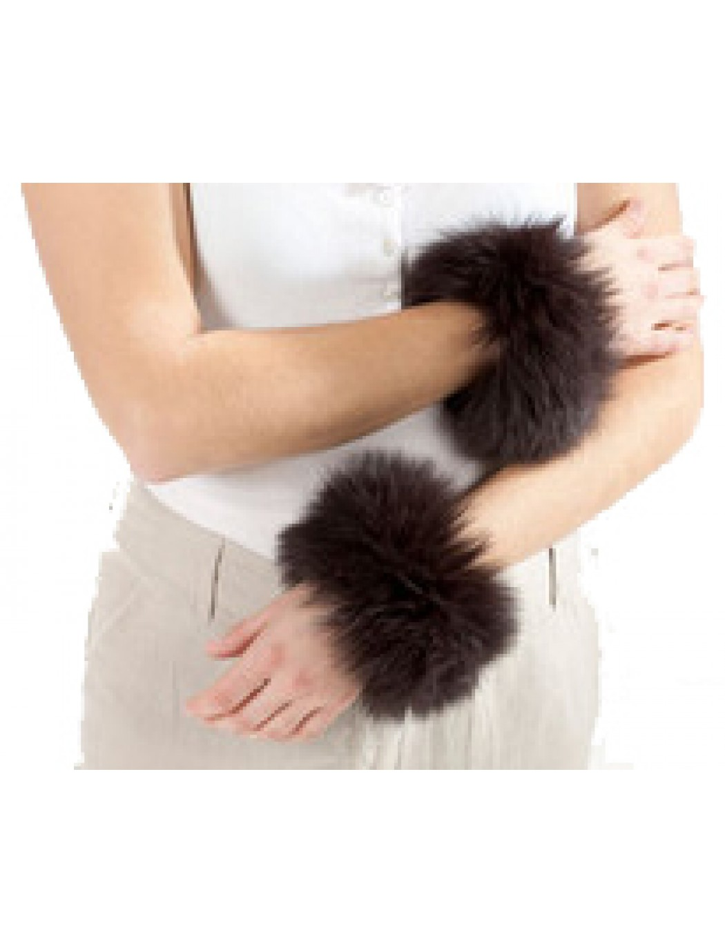 fur-cuffs-black