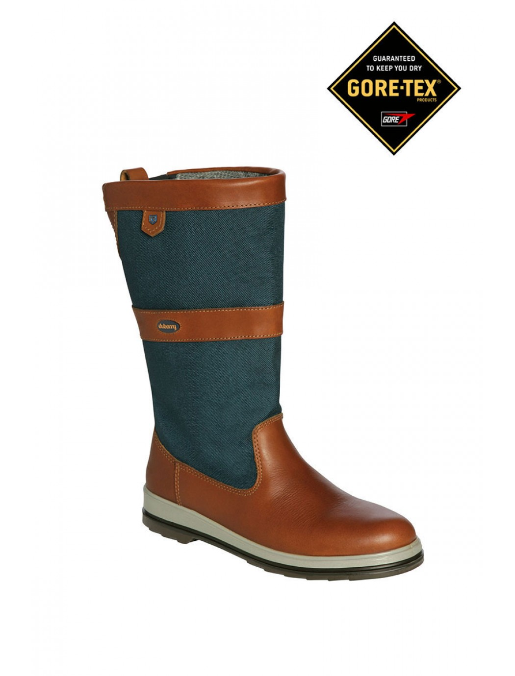 shamrock-sailing-boots-brown-navy 2