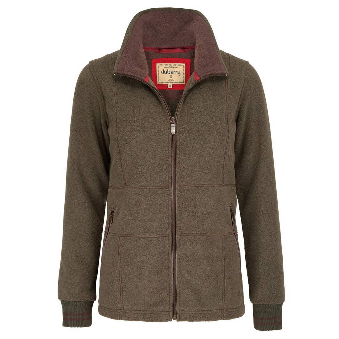 dubarry aran ladies fleece olive 106246